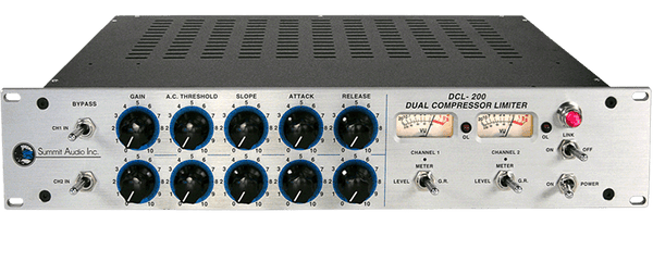 Summit Audio DCL-200 Dual Compressor Limiter