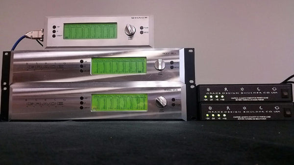 Grace Design Model 801R 8 Channels Preamp Pair with Remote Unit