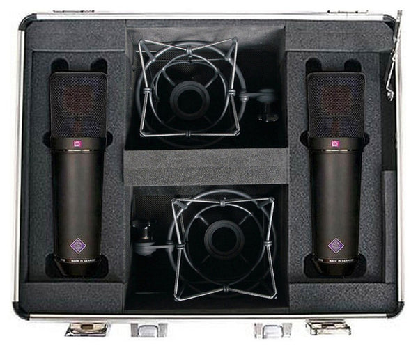Neumann U 87 Ai mt Stereo Set—Black