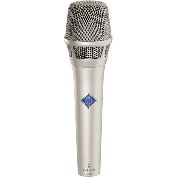 Neumann KMS 105 D Supercardioid Digital Handheld Microphone-Nickel