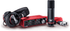 Focusrite Scarlett 2i2 Studio 3rd Gen 2-in, 2-out USB Audio Interface with a Condenser Microphone and Headphones
