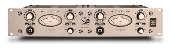 Avalon Design V55 Pure Class A, Microphone Preamplifier, DI & RE-AMP