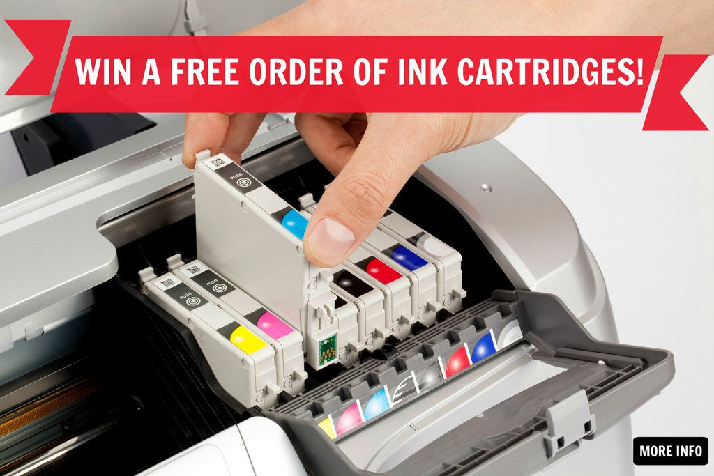 WIN A FREE ORDER OF INK CARTRIDGES!