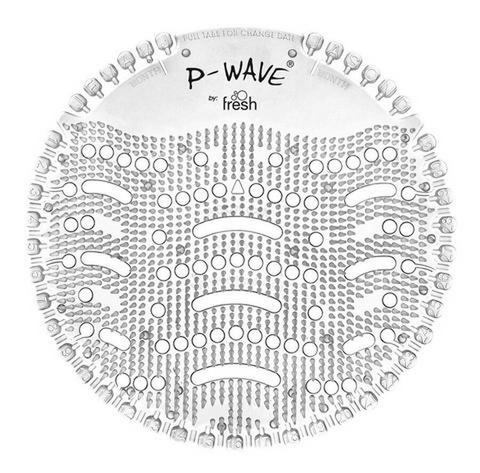 P-Wave Urinal Deodoriser Screens | Honeysuckle | Box of 10