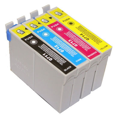 Compatible Epson T0715 Ink Cartridge Multipack