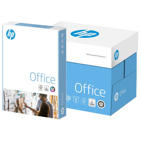 HP Office Printer Copy Paper 80gsm A4 White Box (5 x 500 Sheets)