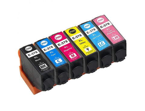 Compatible Epson 378XL Ink Cartridge Multipack (6 Pack) Epson Squirrel