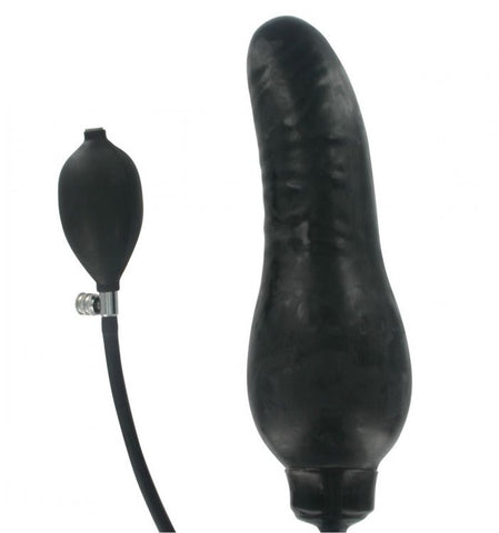 Inflatable dildos used on women