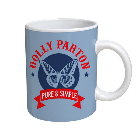 Pure & Simple Butterfly Mug