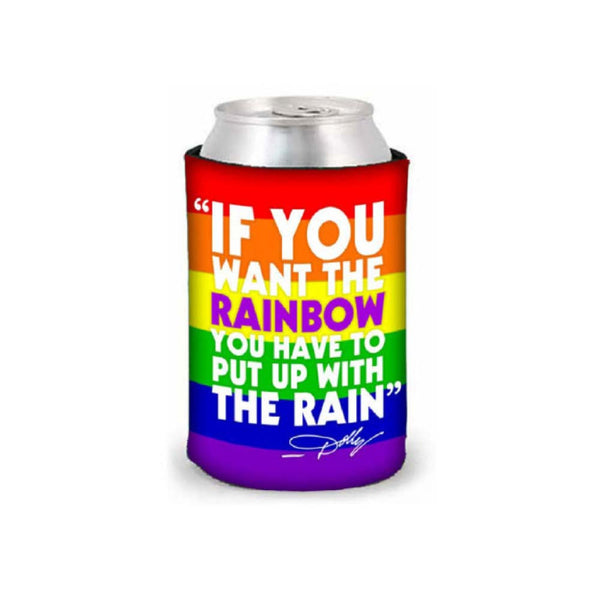 Rainbow Lyric Koozie