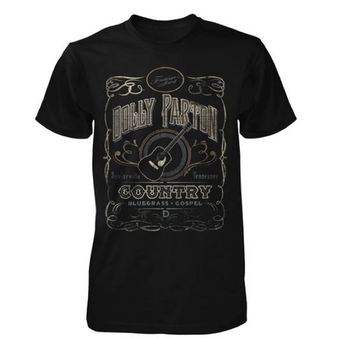 Country Whiskey Label Tee