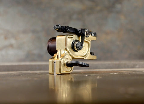 New UPDATED Dan Kubin PolishedBrass V3R Sidewinder