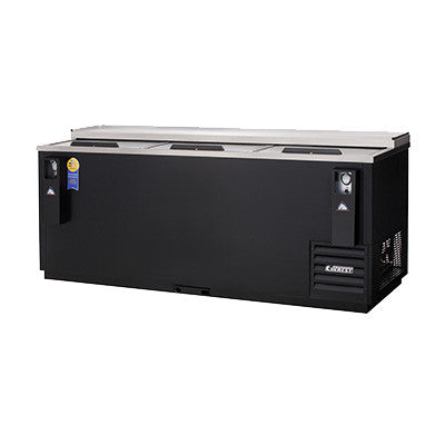 "Everest EBC80 Bottle Cooler 80 1/2"" wide, 24.4 cu. ft. (1,008) can or (720) bottle - Chefmart"