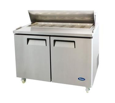 Atosa MSF8306 Refrigerated Sandwich Unit 14.7 cu. Ft., two-section - Chefmart