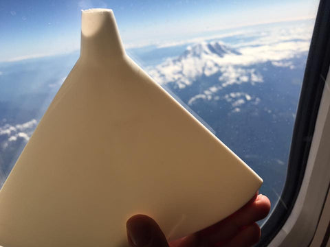 Flat Funnel imitating Mt. Rainier in Washington.