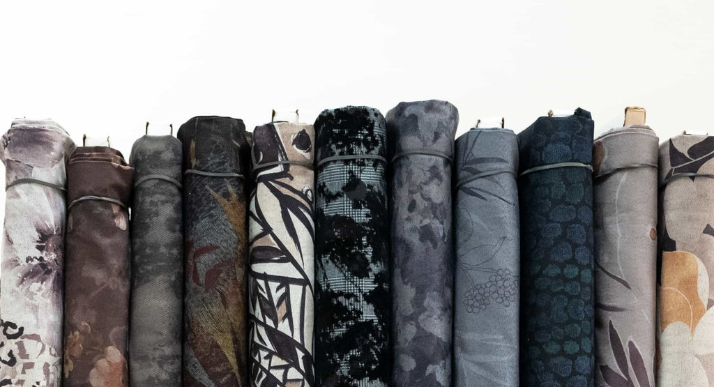 Stunning digital prints on stretch denim milled in Turkey exclusively for Marcy Tilton Fabrics