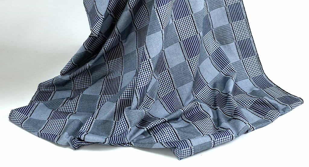 Designer gingham fabrics curated by Vogue Patterns fashion designer Marcy Tilton