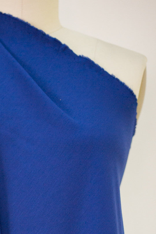 5 Star Cobalt Blue Ponte Knit