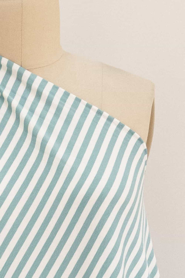 Aquamarine Stripes Knit
