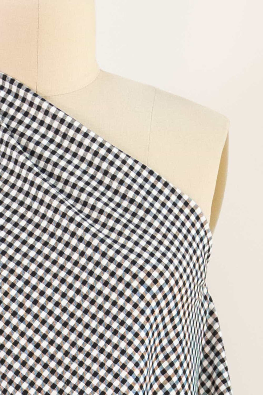 Check Mate Gingham Cotton Knit