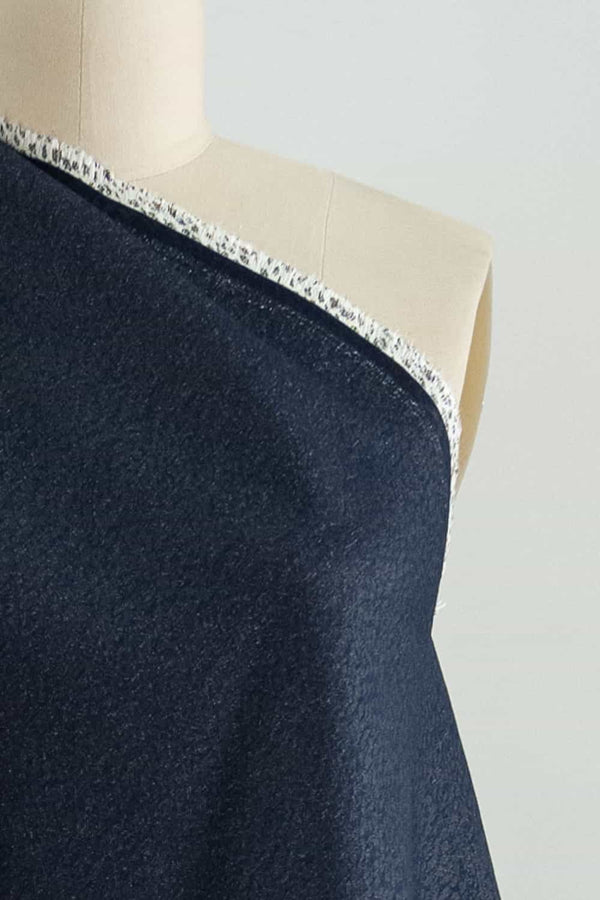 Classico Blue Stretch Denim Woven