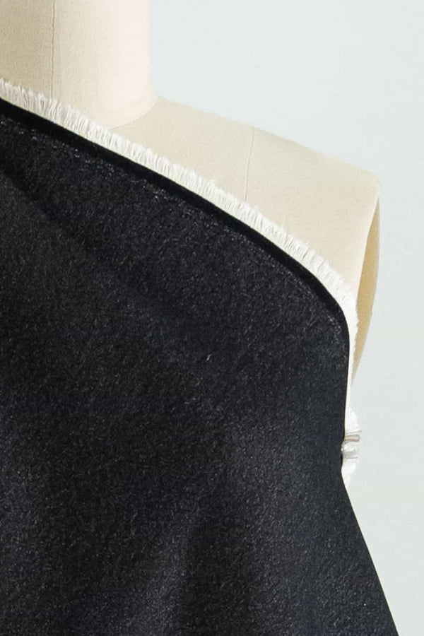 Classico Charcoal Stretch Denim Woven
