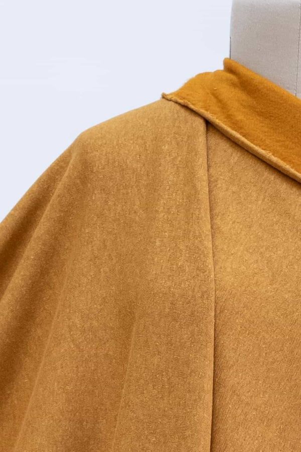 Colonel Mustard Organic Fleece Knit