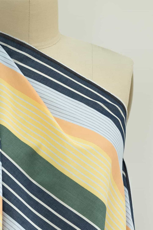 Coppola Stripe Japanese Cotton Woven