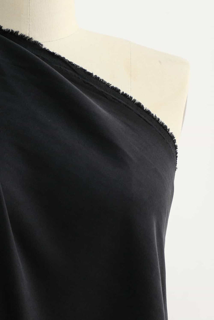 Fade To Black Enzyme Washed Tencel Woven