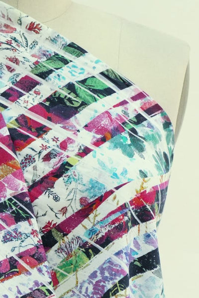 Fragments French Digital Print Cotton Woven