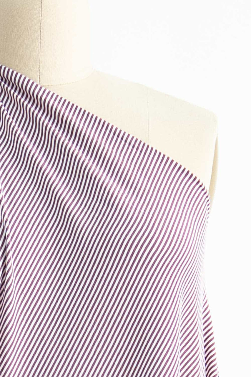 Grape Mini Stripe Knit