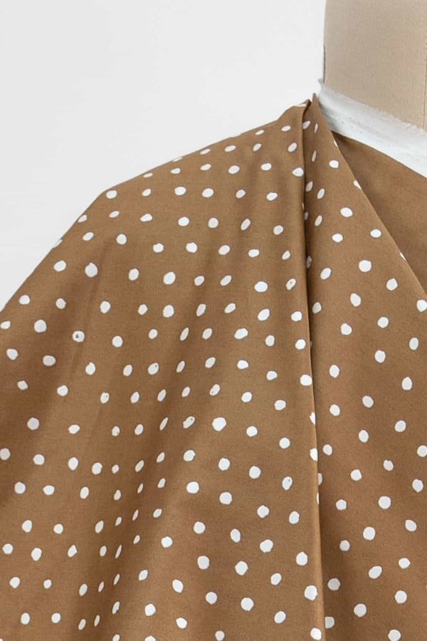 Honey Dots Japanese Cotton Sateen Woven