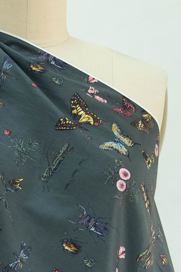 Insects Japanese Cotton Woven