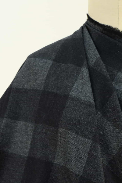 Keith Checks Japanese Cotton Flannel Woven