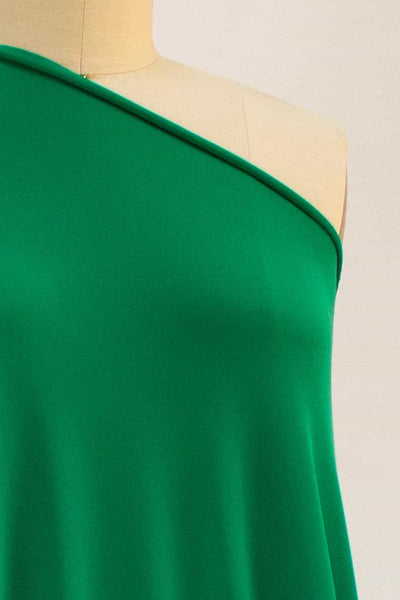 Kelly Green Parisian Microfiber Knit