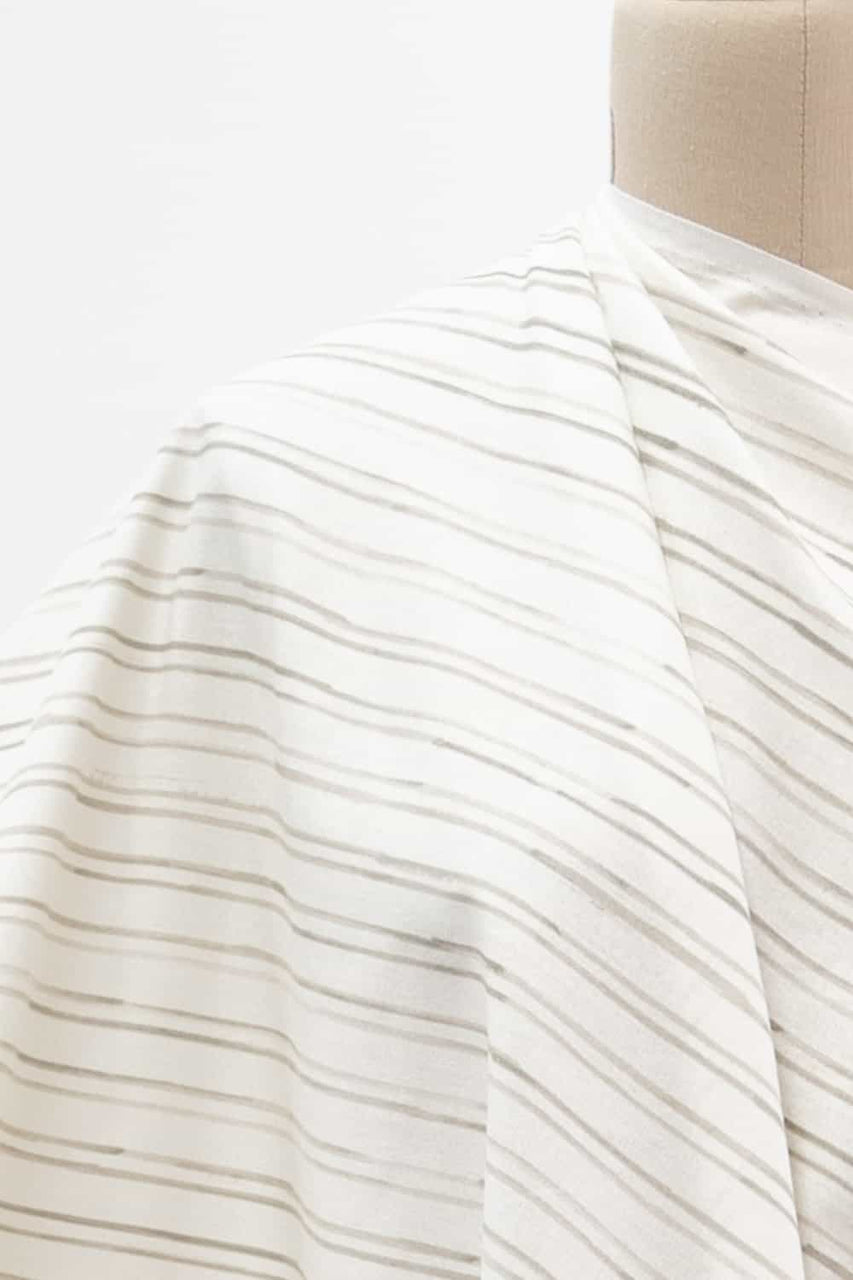 Line In The Sand Japanese Cotton Woven