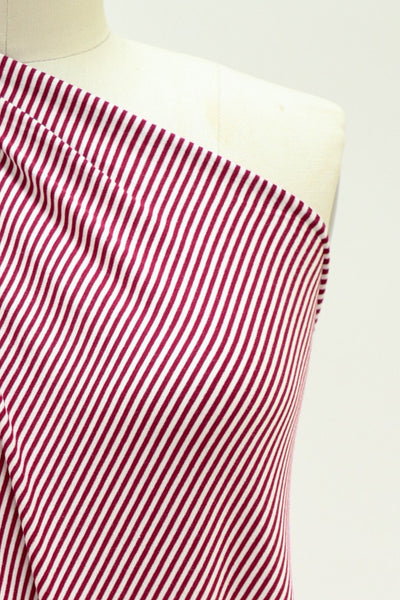 Lucille Ball Stripe Bamboo Rayon/Spandex Knit