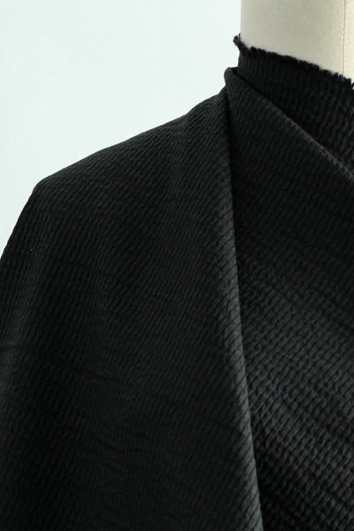 Lyric Black Cotton Woven