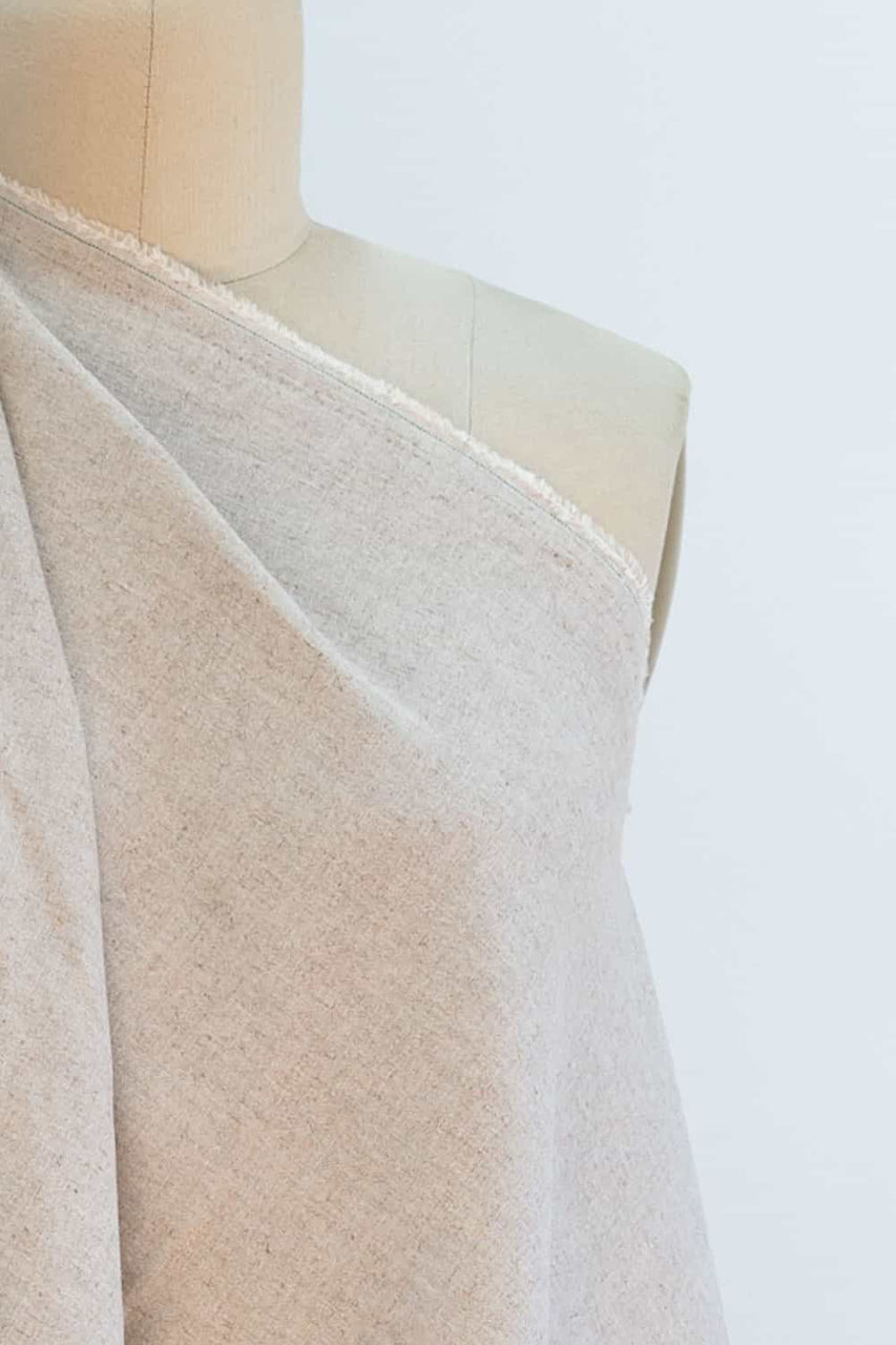 Mr Natural Stretch Linen Woven