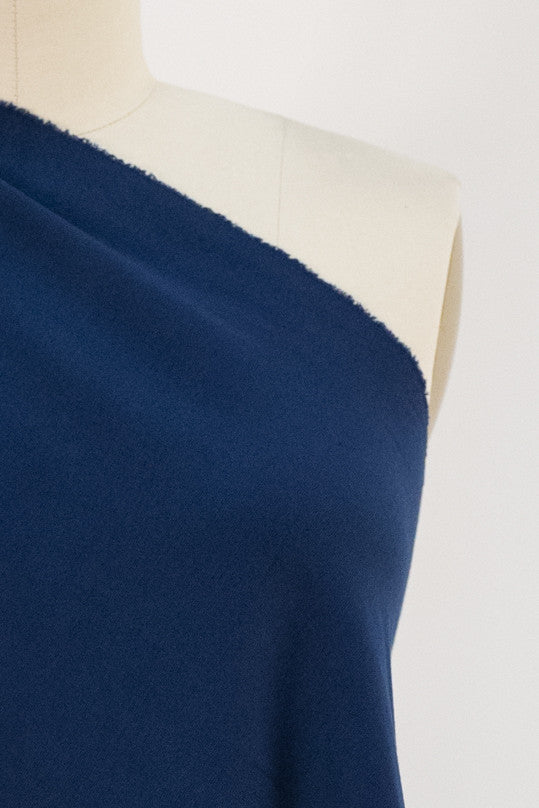 Bright Navy Suprima Ponte Knit