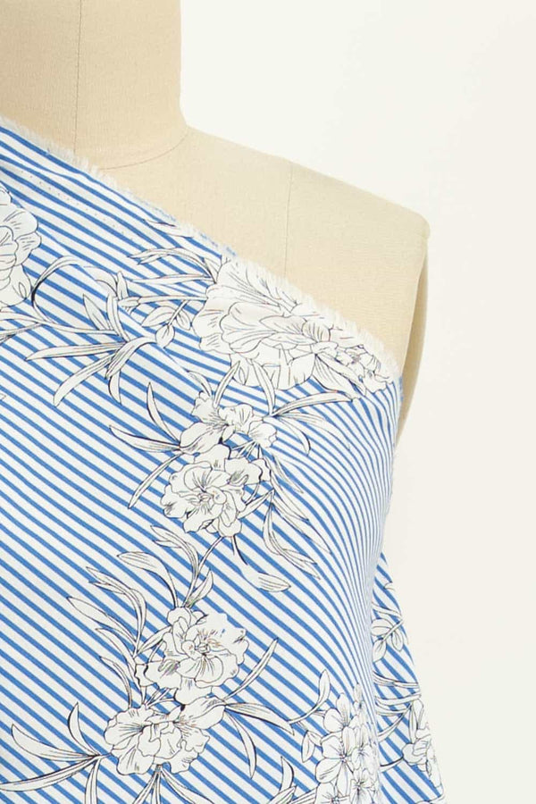 Ocean Breeze Floral Stripe