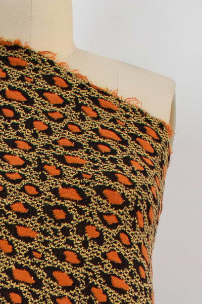Orange Giraffe Knit
