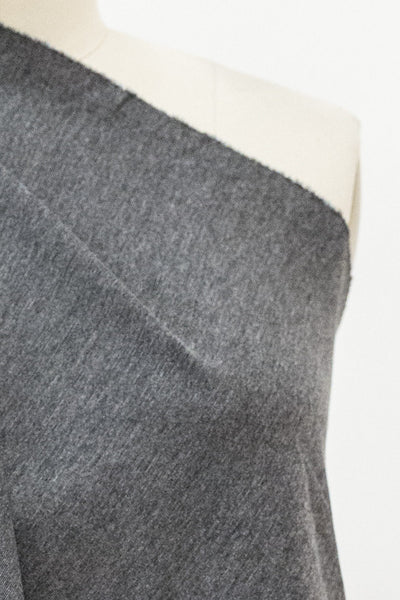 Oxford Gray Suprima Ponte Knit