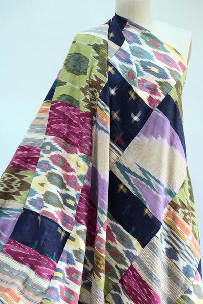 Patch Adams Patchwork Ikat Woven