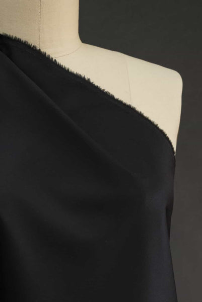 Pure Black Pure Cotton Shirting Woven