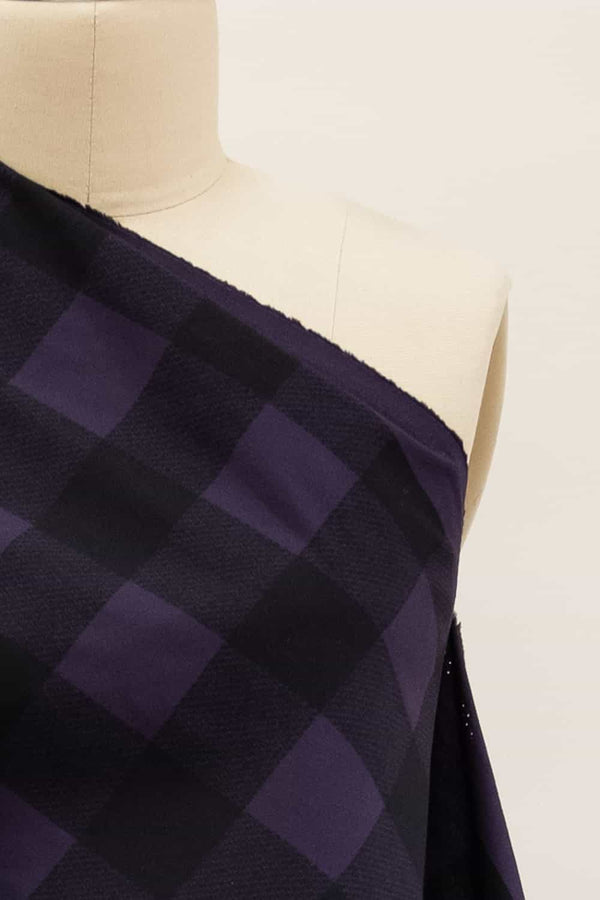 Purple Buffalo Check Woven