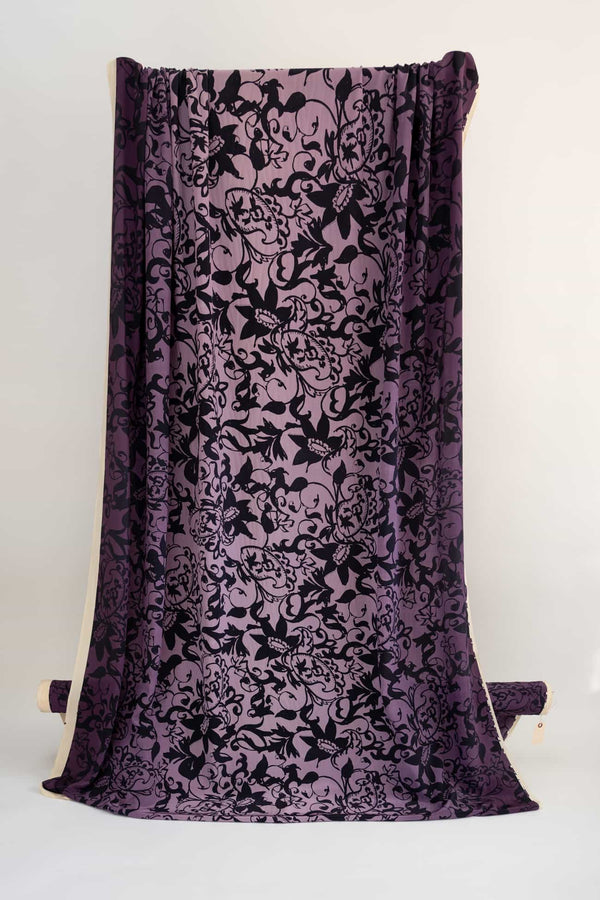 Purple Majesty Silk Woven