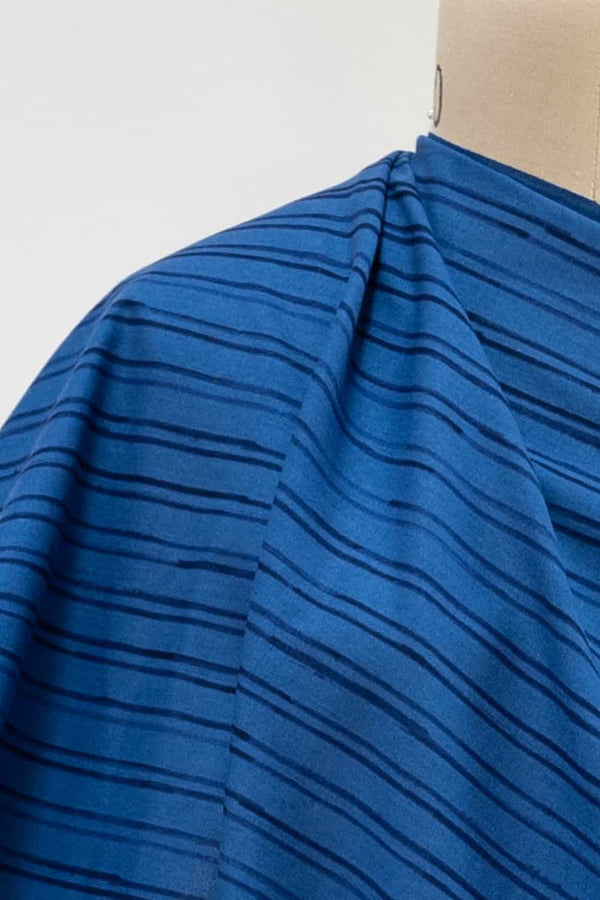 Riviera Stripes Japanese Cotton Woven