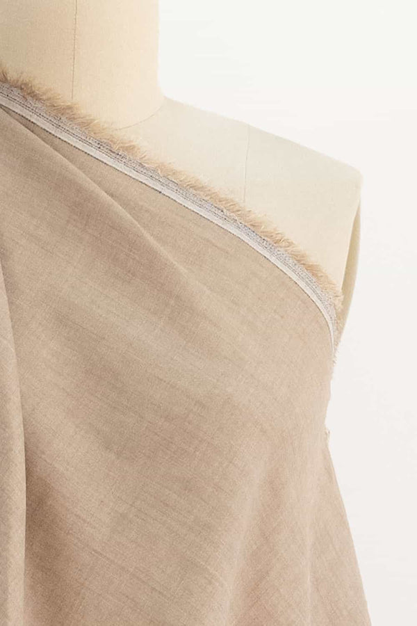 Salted Caramel Washed Linen Woven