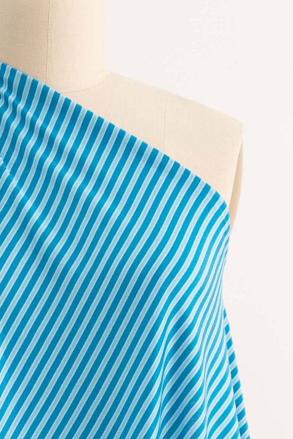 Sam Stripe Japanese Cotton Knit